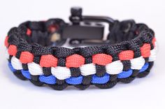 How to Add 3 Colors to the Basic Solomon Paracord Survival Bracelet - Bo...