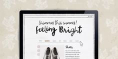 Blog Script - Webfont & Desktop font « MyFonts Nice watercolour effect