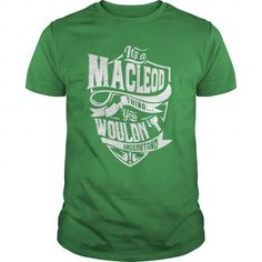 MACLEOD - #boyfriend gift #monogrammed gift. CHEAP PRICE => https://www.sunfrog.com/LifeStyle/MACLEOD-87569371-Green-Guys.html?68278