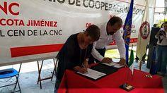 Firman la CNC y el IICA histórico convenio a favor del campo Mexicano