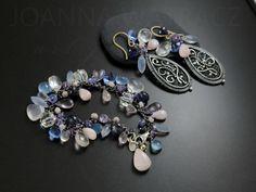 JULIETTE - Ażurowa pastelowa bransoleta / Joanna Watracz / Biżuteria / Bransolety