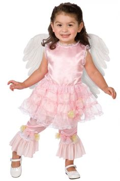 Lilac Angel Costume - Girls Costumes