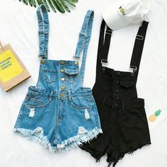 ea1c71d0671  37.44 - Cool 2017 Hot Vogue Women Clothing Denim Playsuits Cotton Strap  Rompers Shorts Loose Casual