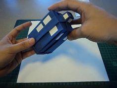Origami TARDIS
