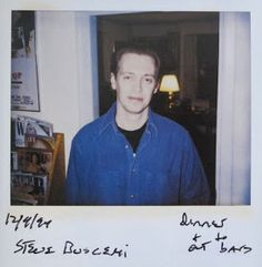Polaroid by John Waters of Steve Buscemi. Steve Buscemi Meme, John Waters, Man Alive, Love People, My Eyes, Famous People, Sexy Men, Polaroids, Google Search