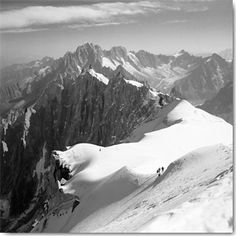 Descent to the Vallee Blanche, Chamonix IG 6023-POD Butcher, Dave