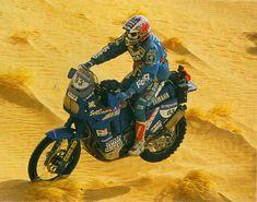 Magnaldi #Dakar 1991.