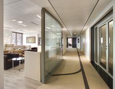Corridor architectured by cléram style design bureau