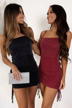 Short Black Homecoming Dress Spaghetti Straps Burgundy Party Dress Customized service and Rush order are available. *** Customers need to know : All of the dresses don't come Dresses Short, Black Party Dresses, Tight Dresses, Short Tight Formal Dresses, Dance Dresses, Pretty Homecoming Dresses, Short Tight Homecoming Dresses, Bodycon Homecoming Dresses, Dress Prom