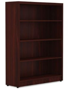 Lorell Chateau Bookcase Mahogany Laminate Surface $147.11
