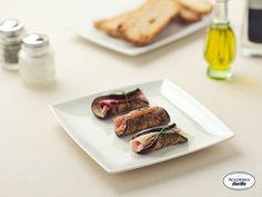 Eggplant Rolls with Pecorino and Prosciutto
