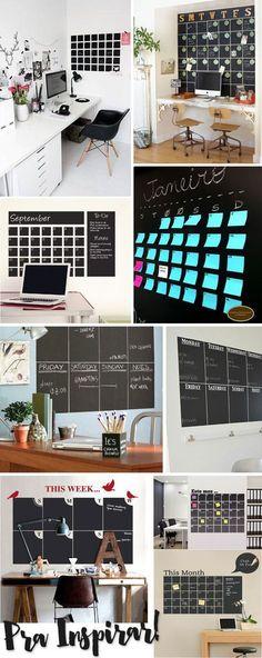 calendário de parede estilo lousa papel contact juro valendo                                                                                                                                                                                 Mais