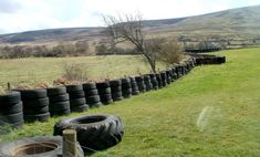 Image result for tyre fence