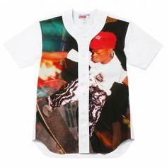 Comme Des Garcons Shirt / Supreme Baseball Shirt