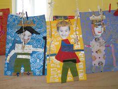 Collages rois et reines