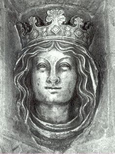 Eleanor of Provence, Queen Consort of Henry III of England. They married on 20 January 1236 at Canterbury Cathedral.