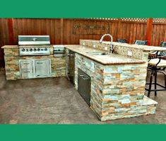 Our designer is ready to assist you with your custom outdoor kitchen plans! With all the different outdoor kitchen shapes, styles and appliance options and placement, we offer customized design services. Your customized plans will include a 3-D diagram, dimension specifications, appliance configuring and a building guide. Get Cookin' on an Outdoor Kitchen It doesn't matter where you want your event epicenter- inevitably everyone congregates around the food. With our carefully curated…