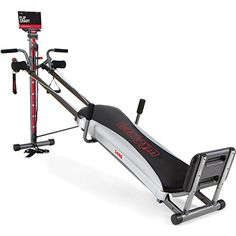 Total Gym 1400 Deluxe Home Fitness Exercise Machine Equip...