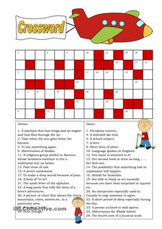 Crossword (Intermediate)