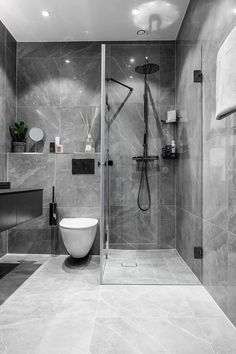 〚Blue velvet sofa and bold bedroom: modern apartment in Stockholm〛〛F . - 〚Blue velvet sofa and bold bedroom: modern apartment in Stockholm〛〛 Photos ◾Ideas◾ design - decor ideas apartment New Bathroom Designs, Bathroom Design Luxury, Modern Bathroom Design, Bedroom Modern, Modern Sofa, Modern Design, Bathroom Trends, Minimalist Bathroom Design, Luxury Bathrooms
