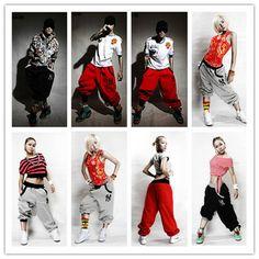 Unisex Casual Harem Baggy Hip Hop Dance Sport Sweat Pants Trousers Slacks Hot