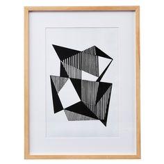 Angled Lines taulu ryhmässä Julisteet / Taulut / Taulut kehyksellä @ ROOM21.fi (130864)