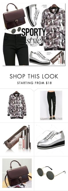 """""""Sporty Style"""" by oshint ❤ liked on Polyvore featuring Chantecaille"""
