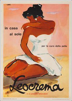 ✔️ Leocrema Chlorodont - 1954 by Ercole Brini