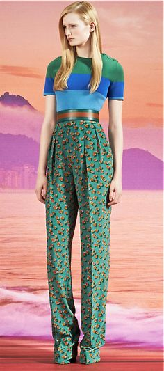 Gucci, resort 2014