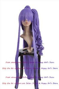 Supper Long 2 in 1 Lavender Straight Anime cosplay wigs party Masquerade girls 30CM + 100CM by Sweet & Happy Girl's Anime Wigs. $55.97. RETURNS ACCEPTABLE IN 14 DAYS (ORIGINAL SELLING STATUS,NO WEAR PLEASE). NEW store open, Big Discount, From factory, Arrive in 2-3 weeks. Worth the wait... Full Wigs, Change Your Looks In Seconds.Great Idea for Party Cosplay Masquerade etc.. Fashion Wigs, Janpanese Synthetic Fiber. NOT Human Hair.. Click my brand find more size & Newest ... Cosplay Wigs, Anime Cosplay, Anime Wigs, Wig Party, Fashion Wigs, Wig Styles, Styling Products, Happy Girls, You Look