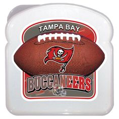 Tampa Bay Buccaneers 3D Sandwich Container