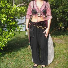 Renaissance gypsy, belly dancer costume, custom made