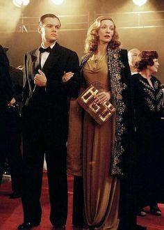 Leo and cate Blanchett -- the aviator
