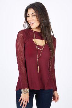 Carolina Scoop Sweater by ALLISON JOY - EVEREVE