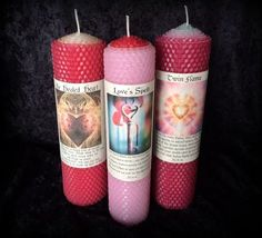 Divine Love Candle Trio: Healed Heart Love Spell by TheSageGoddess