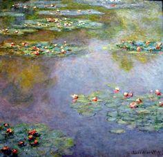 Tutte le dimensioni  Claude Monet - Water Lilies, 1907 at Boston Museum of Fine Arts   Flickr – Condivisione di foto!
