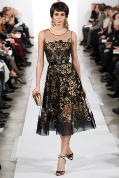 Oscar de la Renta Fall 2014 Ready-to-Wear - Collection - Gallery - Look 1 - Style.com