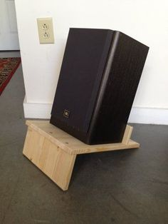 Materials: 1x Rast Nightstand, a Saw  Description: I've always admired the Frosta Speaker Stand hack posted last year but the stools were discontinued a