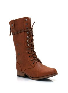 Shout out to all the 5s, 5.5s, 6s, & 6.5s :( Zip back combat boot only $26.95 at GoJane.com!
