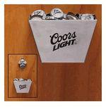Coors Light Bottle Cap Catcher and Bottle Opener Bottle Art, Beer Bottle, Bottle Opener, Beer Taps, Bottle Lights, Coors Light, Game Room, Catcher, Man Cave