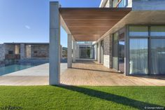 Stone House In Anavissos, by Whitebox Architects.