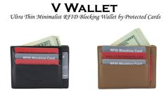 Rick Munizza is raising funds for V Wallet: Ultra Thin Minimalist RFID Blocking Wallet on Kickstarter! Tired of your traditional Bulky wallet? The V Wallet is a slim minimalist RFID blocking wallet that can fit in your front pocket. Rfid Blocking Wallet, Japanese Words, Magic Words, Together We Can, Free Money, Card Holder, Product Launch, Minimalist