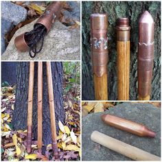 This amazing tutorial of how to make a storage compartment in a walking stick project to hold emergency preparedness items or a spare key. The Do It Yourse Wooden Walking Sticks, Walking Sticks And Canes, Walking Canes, Survival Equipment, Survival Tools, Bushcraft, Emergency Preparedness Items, Hiking Staff, Wooden Canes