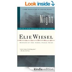 Amazon.com: Night eBook: Elie Wiesel, Marion Wiesel: Kindle Store. Survival as a teenager in Nazi death camp.