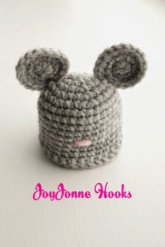 #mouse #pattern #crochet #innocent #drinks #hat #muis #patroon #haken JoyJonne Hooks