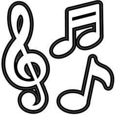 Musical note die cut shapes are perfect for a variety of paper and décor projects. With our new craft dies, you can make your own - in any color you like. Music Crafts, New Crafts, Paper Crafts, Music Clipart, Music Drawings, Candy Christmas Decorations, Music Notes, Music Music, Die Cutting