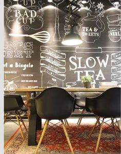 Kafe dekor #cafe#decor#black#and#white