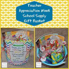 {Free Printable}: Teacher Appreciation