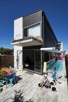 Florence St House, Klopper & Davis Architects #kada #architecture #brick