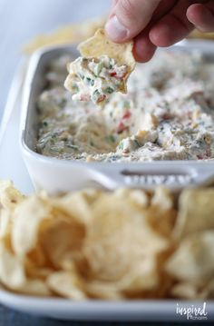 The perfect party appetizer, this Really Good Jalapeño Dip is delicious and simple to make!